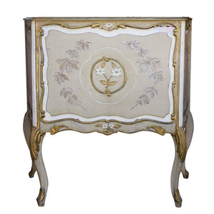 Large Wood Jardiniere Decorated with Chinoiseries Case Pieces and Storage Jacques Antiques