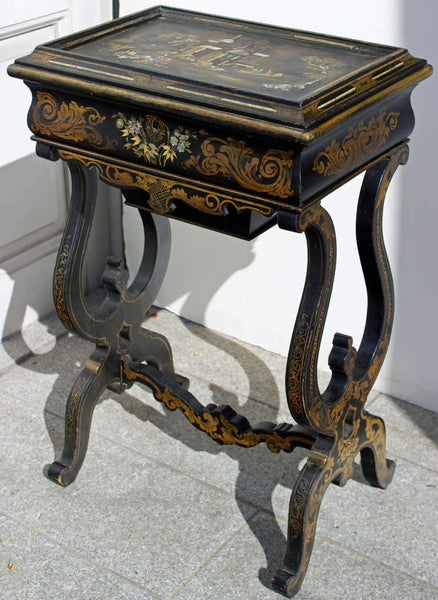 Napoleon III Ladies Work Table Tables Jacques Antiques