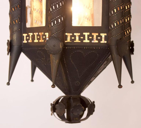 Pair of Andalusian 19th Century Lantern Fixtures Lighting jacques Antiques