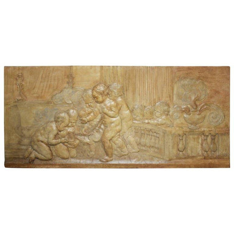 Religious Bas Relief Wall Decor Pieces Jacques Antiques