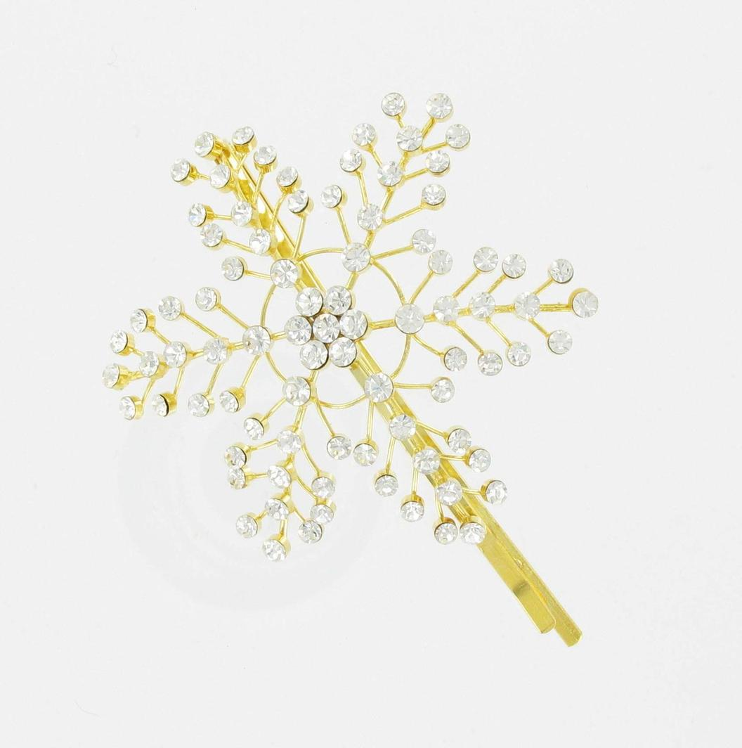 Snowflake clips