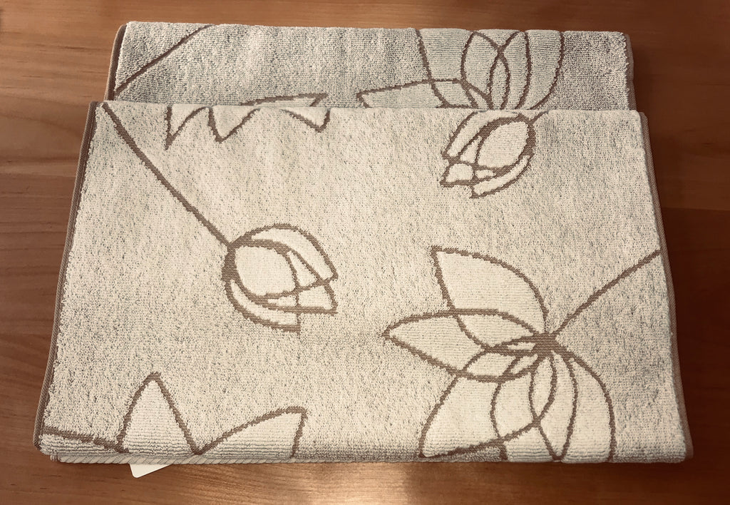 Imabari Towels - Lotus Hand Towel in White