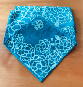 Imabari Towels - Pion Hand Towel in Blue