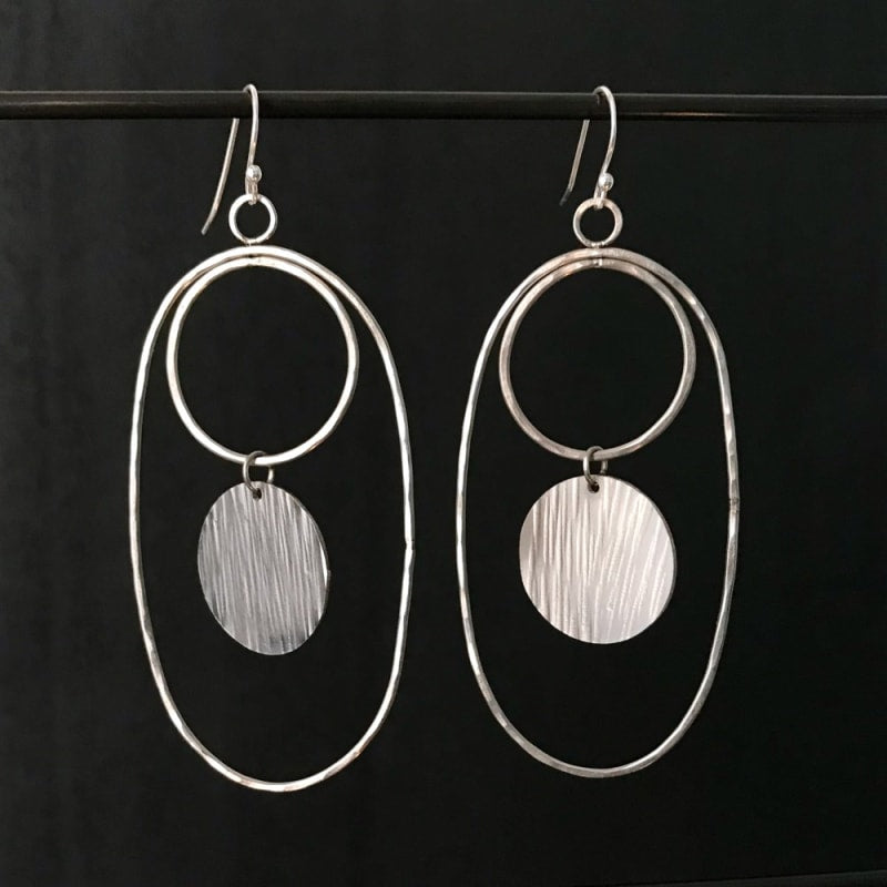 Steel Toe Studio Theia Earrings in Stainless Steel