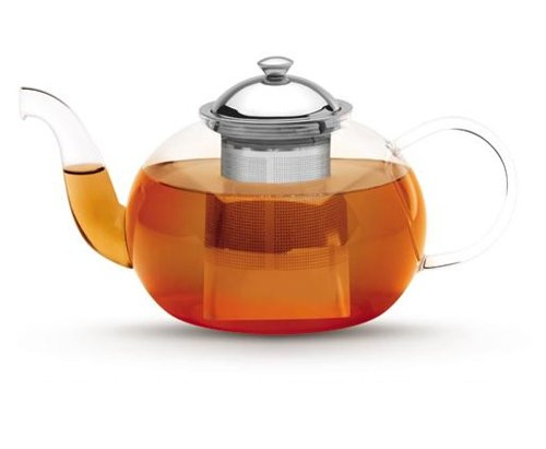 Tea Pot - Glass - with Infuser