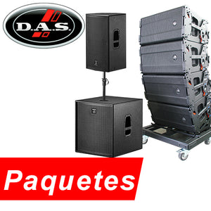 DAS Audio Paquetes