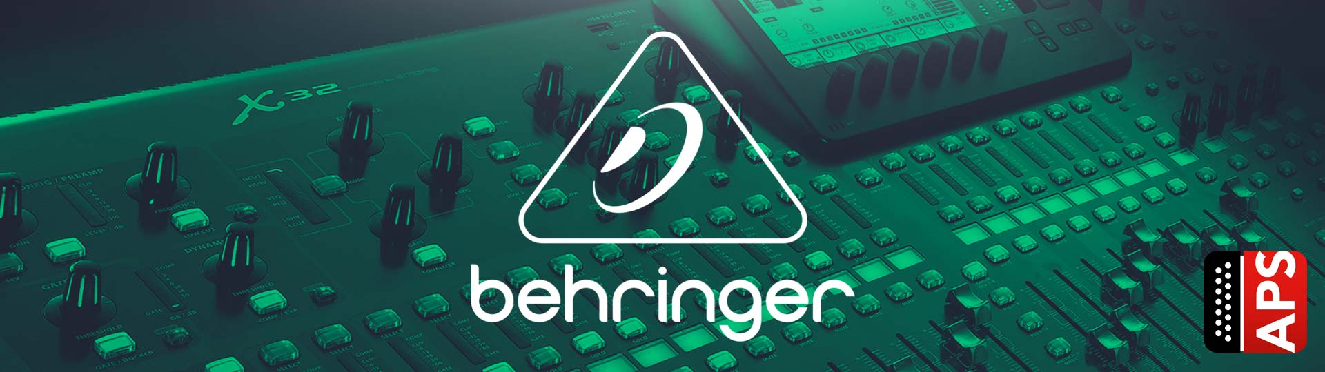 Accordion Pro Shop Colección Behringer Banner