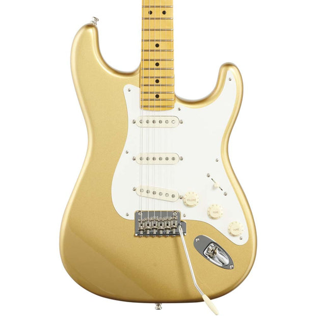 Fender Lincoln Brewster Stratocaster Maple Fingerboard Electric Guitar Aztec Gold