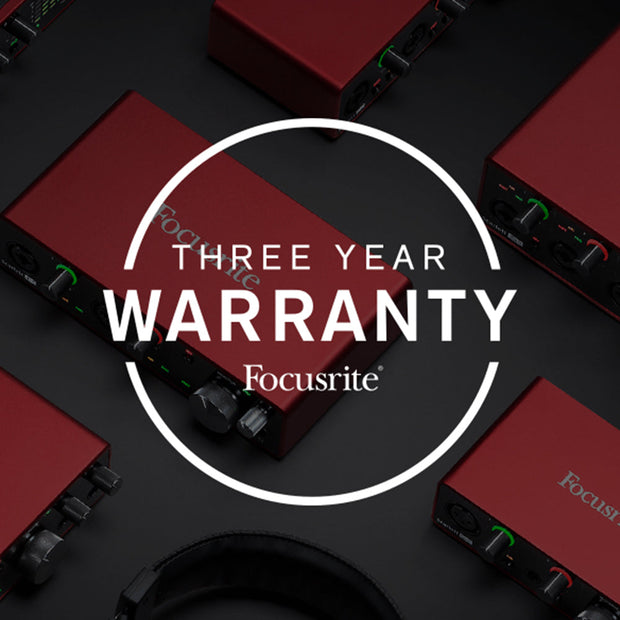 Focusrite Scarlett 4i4 (3rd Gen) Audio Interface