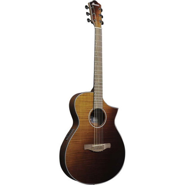 Ibanez AEW Acoustic-Electric Guitar Amber Sunset