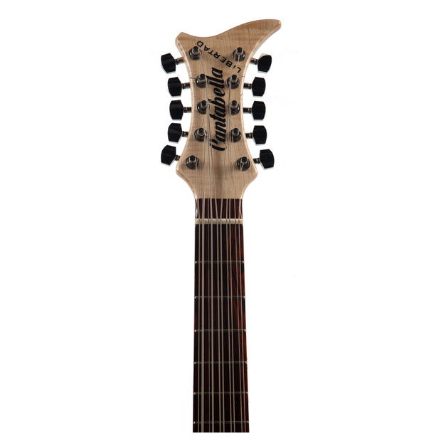 Cantabella Bajoquinto Flammed Maple Modern Headstock