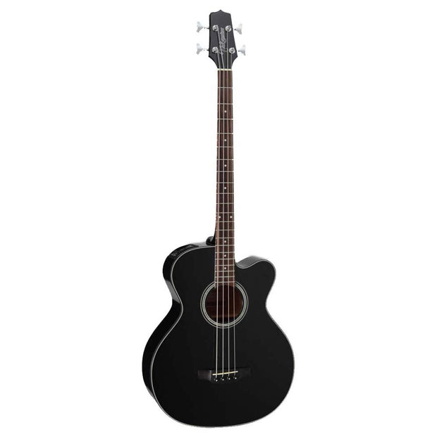 Takamine GB30CE Acoustic/Electric Bass Guitar Black