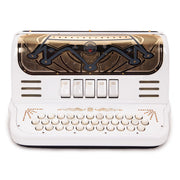 Cantabella Rey II GCF - 5 Switches White and Gold