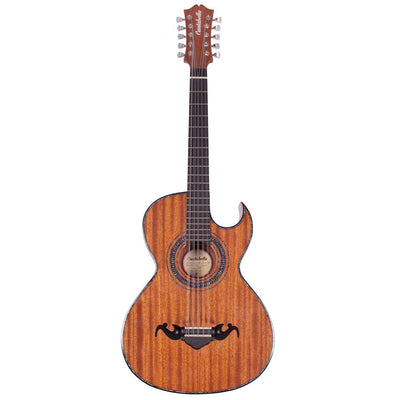 Cantabella Bajo Quinto Sapeli Wood Chrome Machinery with Pickup