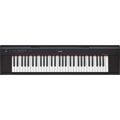 Yamaha NP12B 61-Key Piano Digital Negro