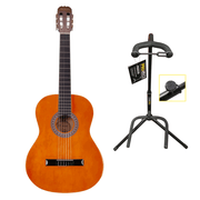 Babilon Status Classical Guitar Light Brown with Stand
