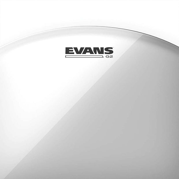 "Evans TT10G2 10"" Genera G2 Clear Tom Head"