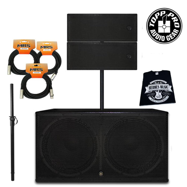 Paquete Club Line Array Topp Pro