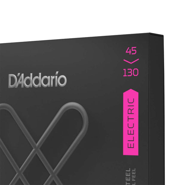 D'Addario XTB45130 XT Nickel Plated Steel 5-String Long Scale Bass Strings