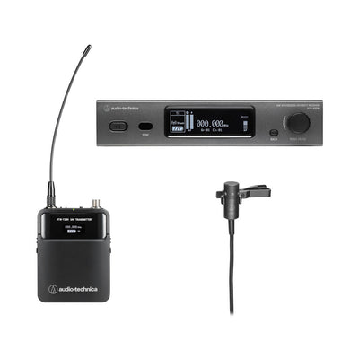 Audio-Technica 3000 Series Wireless Cardioid Lavalier Microphone System