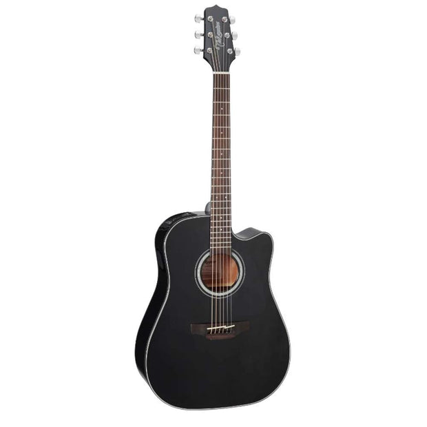 Takamine GD30CE-12 Black Acoustic/Electric Dreadnought Guitar