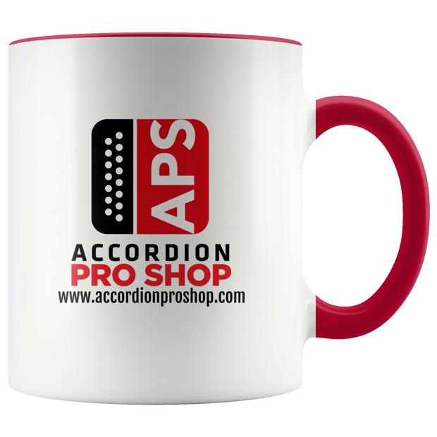 Accordion Pro Shop Coffee Accent Mug
