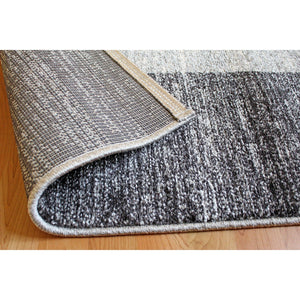 Gran Canaria Frame Area Rug Brown