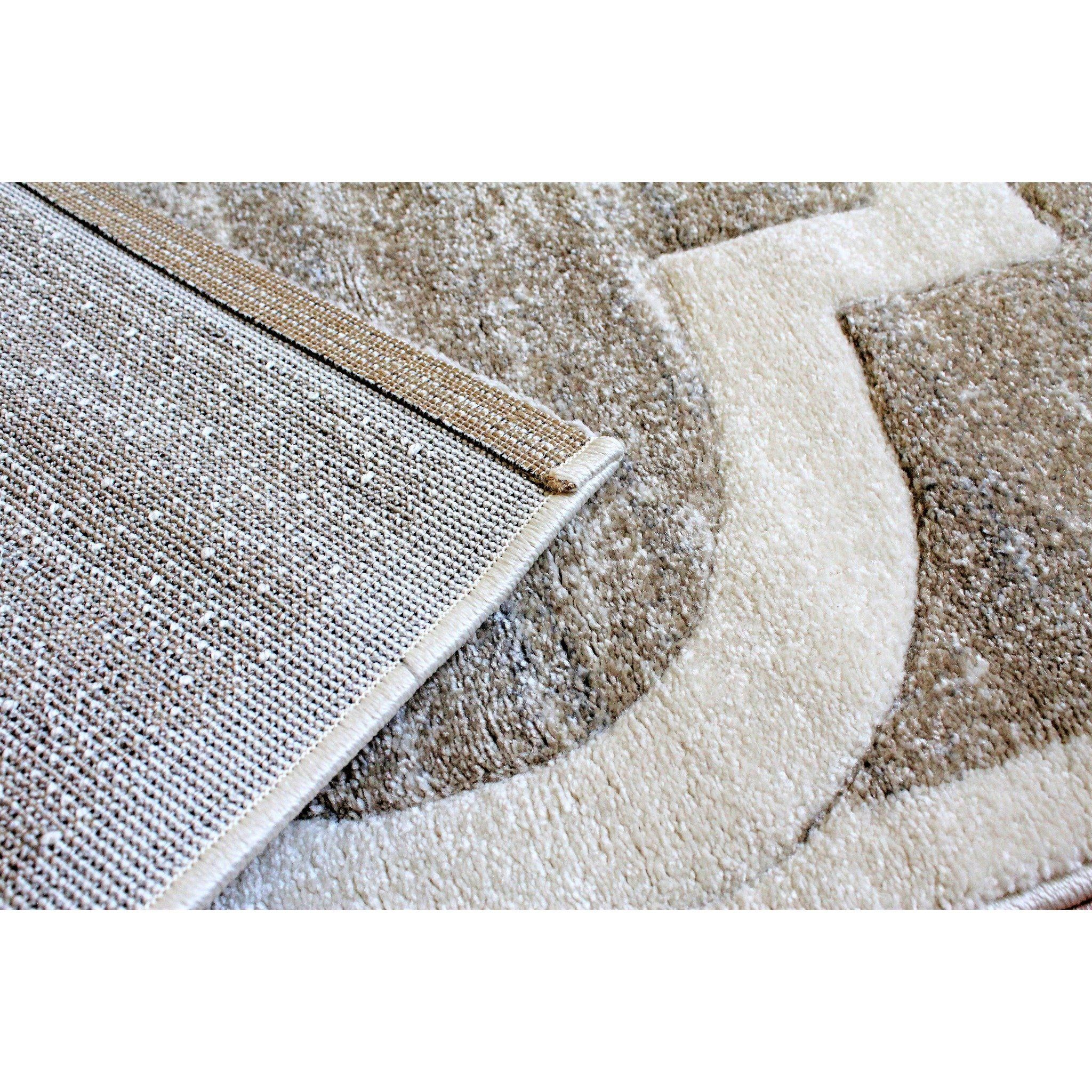 Beige Rugs Grey Area Rug 5x7 Modern Contemporary Large