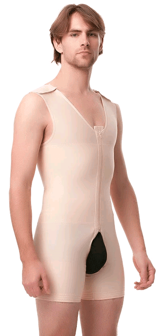 Male Body Suit, Stage 1, Mid Thigh - Body Suit - Isavela - statina.com.au