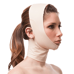 Chin Strap With Full Neck Support - Facial Garment - Isavela - statina.com.au