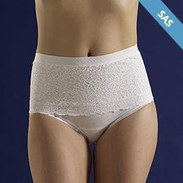 Corsinel Maximum Support Underwear Female, Low, Lace - Ostomy Support Underwear - Corsinel - statina.com.au