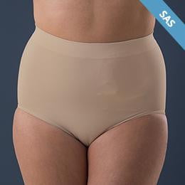 Corsinel Medium Support Underwear Female, Low - Ostomy Support Underwear - Corsinel - statina.com.au