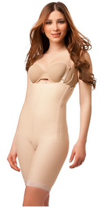 BS03 - Stage 1 Body Suit with Suspenders - Mid Thigh