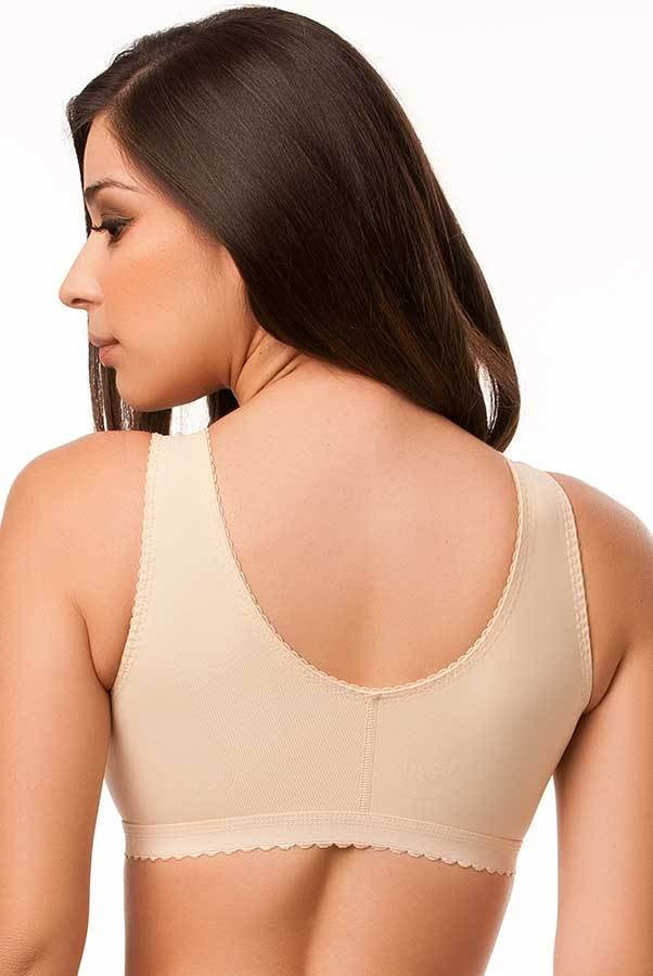 "Compression Support Bra with 2"" Elastic Band - Compression Support Bra - Isavela - statina.com.au"