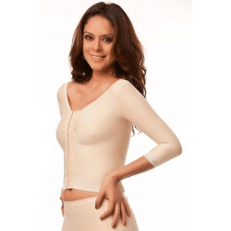 Long Compression Vest/Bra (Bolero) - Medium Sleeves