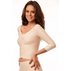 Long Compression Vest/Bra (Bolero) - Medium Sleeves - Compression Vest - Isavela - statina.com.au