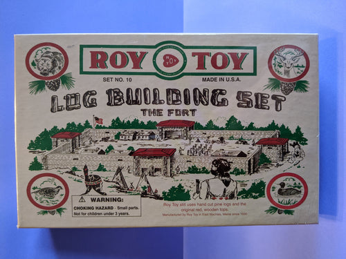 Roy Toy Log Building Set-The Fort