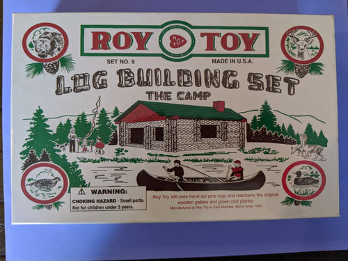 Roy Toy Log Building Set- The Camp
