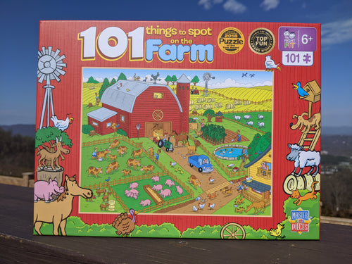 101 Things To Spot on the Farm Puzzle
