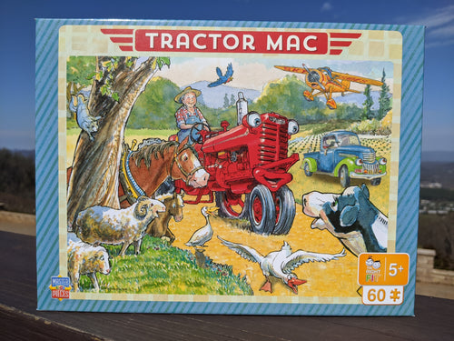 Tractor Mac Out For A Ride Puzzle