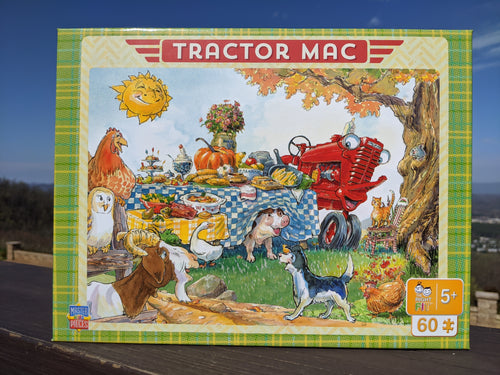 Tractor Mac Dinner Time Puzzle