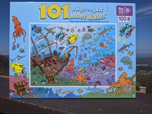 101 Things To Spot Underwater Puzzle