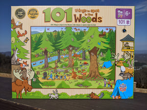 101 Things To Spot in the Woods Puzzle