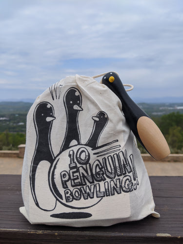 Penguin Bowling in a Bag