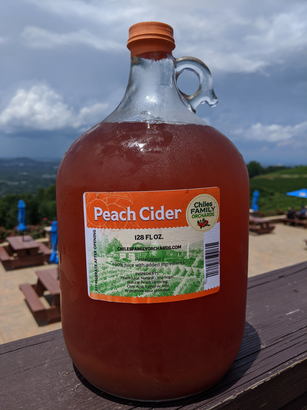 Peach Cider-Gallon