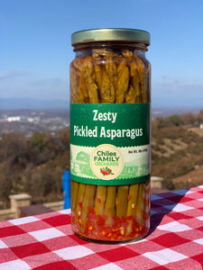 Zesty Pickled Asparagus
