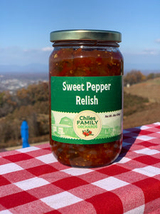 Sweet Pepper Relish