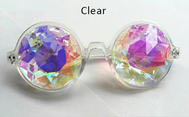 Colorful Kaleidoscope Sunglasses