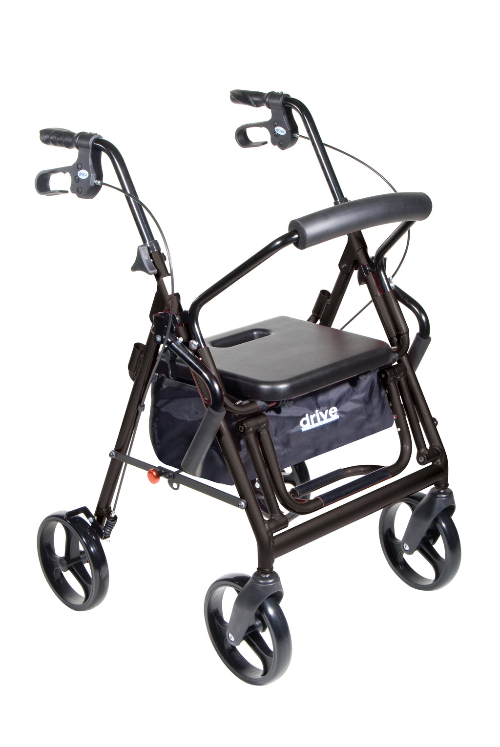 Duet Dual Function Transport Wheelchair Rollator Rolling Walker