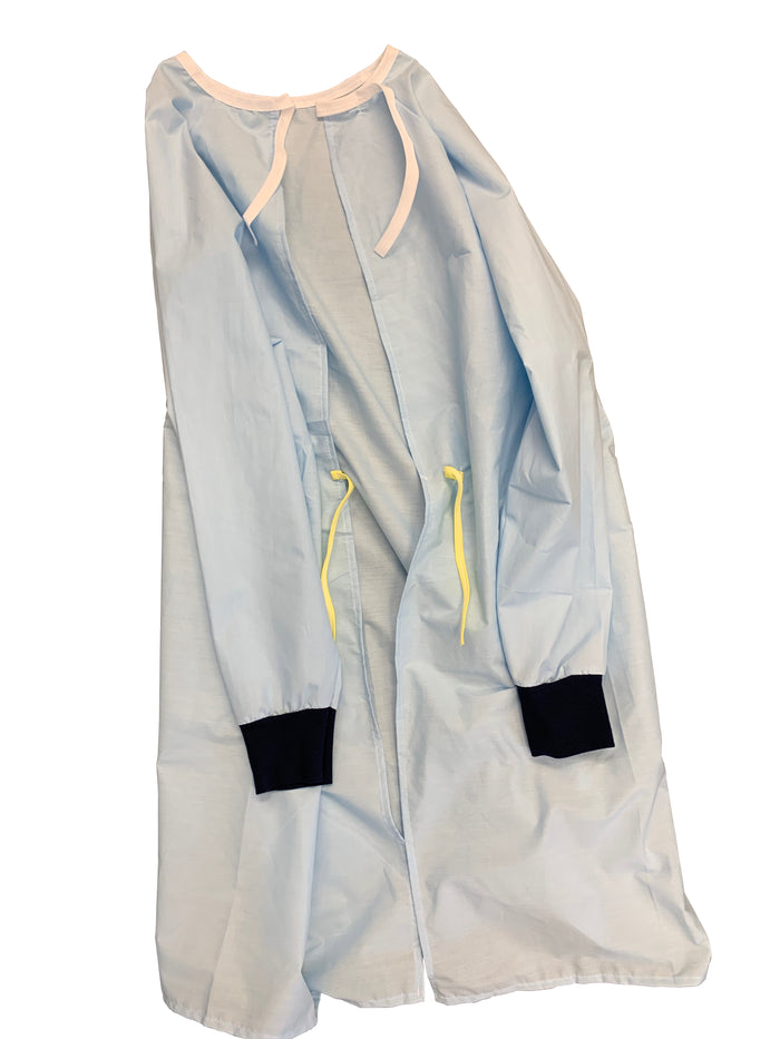 Isolation Gown, Reusable/Washable